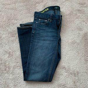 J.Crew matchstick jeans size 28